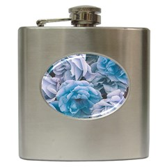 Great Garden Roses Blue Hip Flask (6 Oz)