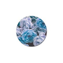 Great Garden Roses Blue Golf Ball Marker