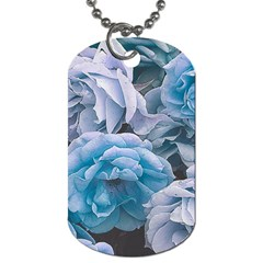 Great Garden Roses Blue Dog Tag (two Sides)