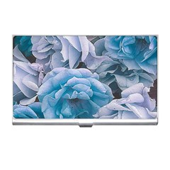 Great Garden Roses Blue Business Card Holders
