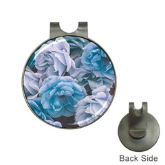 Great Garden Roses Blue Hat Clips With Golf Markers