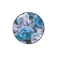 Great Garden Roses Blue Hat Clip Ball Marker (4 Pack)