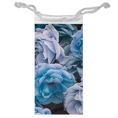 Great Garden Roses Blue Jewelry Bags