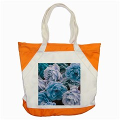 Great Garden Roses Blue Accent Tote Bag