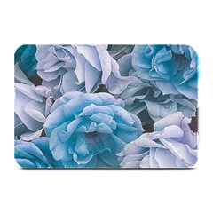 Great Garden Roses Blue Plate Mats
