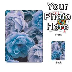 Great Garden Roses Blue Multi-purpose Cards (Rectangle)