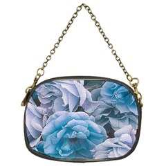 Great Garden Roses Blue Chain Purses (one Side)