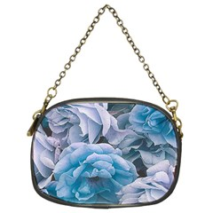 Great Garden Roses Blue Chain Purses (two Sides)