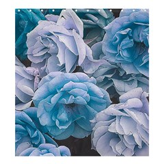 Great Garden Roses Blue Shower Curtain 66  X 72  (large)