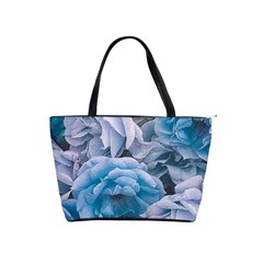 Great Garden Roses Blue Shoulder Handbags