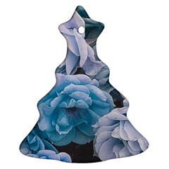 Great Garden Roses Blue Ornament (Christmas Tree)