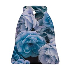 Great Garden Roses Blue Bell Ornament (2 Sides)