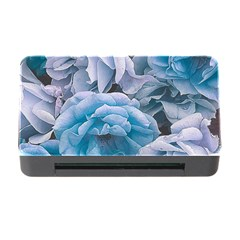 Great Garden Roses Blue Memory Card Reader With Cf