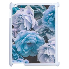 Great Garden Roses Blue Apple Ipad 2 Case (white)