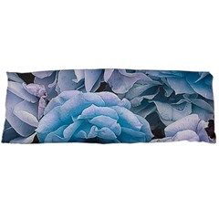 Great Garden Roses Blue Body Pillow Cases (Dakimakura)