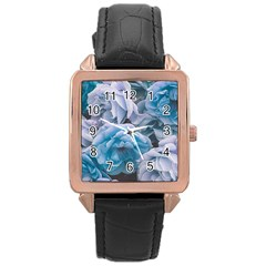 Great Garden Roses Blue Rose Gold Watches