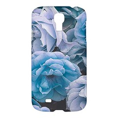 Great Garden Roses Blue Samsung Galaxy S4 I9500/i9505 Hardshell Case
