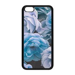 Great Garden Roses Blue Apple Iphone 5c Seamless Case (black)