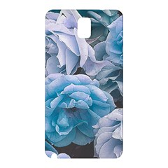 Great Garden Roses Blue Samsung Galaxy Note 3 N9005 Hardshell Back Case