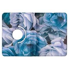 Great Garden Roses Blue Kindle Fire Hdx Flip 360 Case