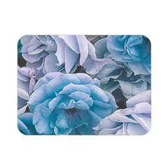 Great Garden Roses Blue Double Sided Flano Blanket (mini)