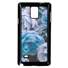 Great Garden Roses Blue Samsung Galaxy Note 4 Case (Black)