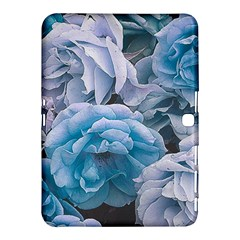 Great Garden Roses Blue Samsung Galaxy Tab 4 (10.1 ) Hardshell Case