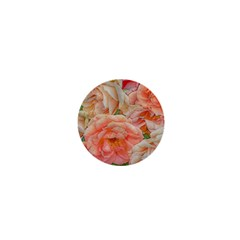 Great Garden Roses, Orange 1  Mini Buttons