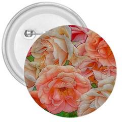 Great Garden Roses, Orange 3  Buttons