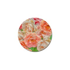 Great Garden Roses, Orange Golf Ball Marker