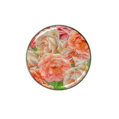 Great Garden Roses, Orange Hat Clip Ball Marker