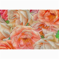 Great Garden Roses, Orange Collage 12  x 18