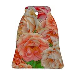 Great Garden Roses, Orange Ornament (Bell)