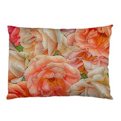 Great Garden Roses, Orange Pillow Cases (Two Sides)
