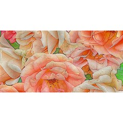Great Garden Roses, Orange YOU ARE INVITED 3D Greeting Card (8x4)