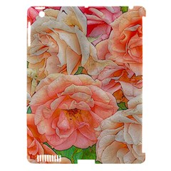Great Garden Roses, Orange Apple Ipad 3/4 Hardshell Case (compatible With Smart Cover)