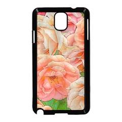 Great Garden Roses, Orange Samsung Galaxy Note 3 Neo Hardshell Case (black)