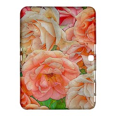 Great Garden Roses, Orange Samsung Galaxy Tab 4 (10.1 ) Hardshell Case