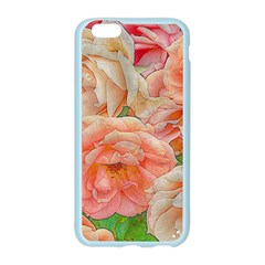 Great Garden Roses, Orange Apple Seamless iPhone 6 Case (Color)