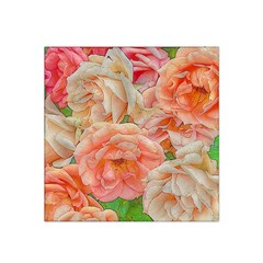 Great Garden Roses, Orange Satin Bandana Scarf