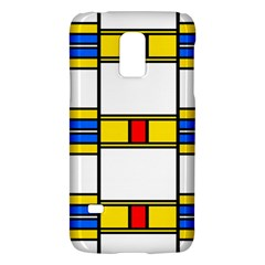 Colorful squares and rectangles patternSamsung Galaxy S5 Mini Hardshell Case