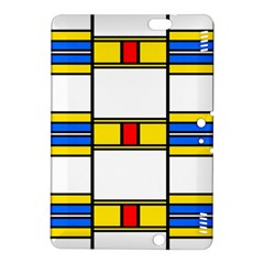 Colorful Squares And Rectangles Patternkindle Fire Hdx 8 9  Hardshell Case