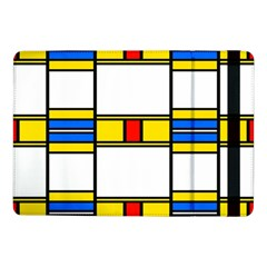 Colorful Squares And Rectangles Patternsamsung Galaxy Tab Pro 10 1  Flip Case