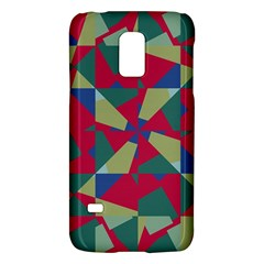 Shapes In Squares Patternsamsung Galaxy S5 Mini Hardshell Case