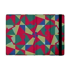 Shapes In Squares Patternapple Ipad Mini 2 Flip Case