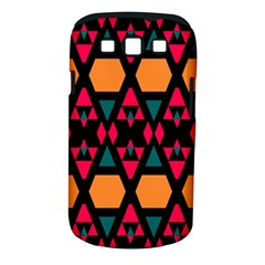 Rhombus And Other Shapes Pattern Samsung Galaxy S Iii Classic Hardshell Case (pc+silicone)
