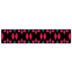 Rhombus and other shapes pattern Flano Scarf