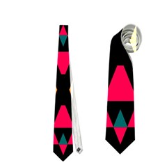 Rhombus And Other Shapes Pattern Necktie
