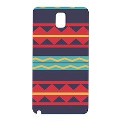 Rhombus And Waves Chains Pattern Samsung Galaxy Note 3 N9005 Hardshell Back Case