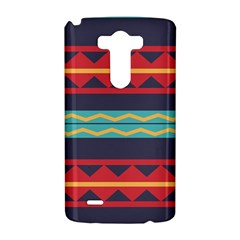 Rhombus and waves chains pattern LG G3 Hardshell Case
